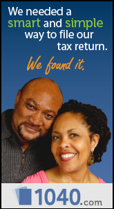 We needed a smart and simple way to file our tax return. We found it with 1040.com.
