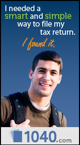 I needed a smart and simple way to file our tax return. I found it with 1040.com.